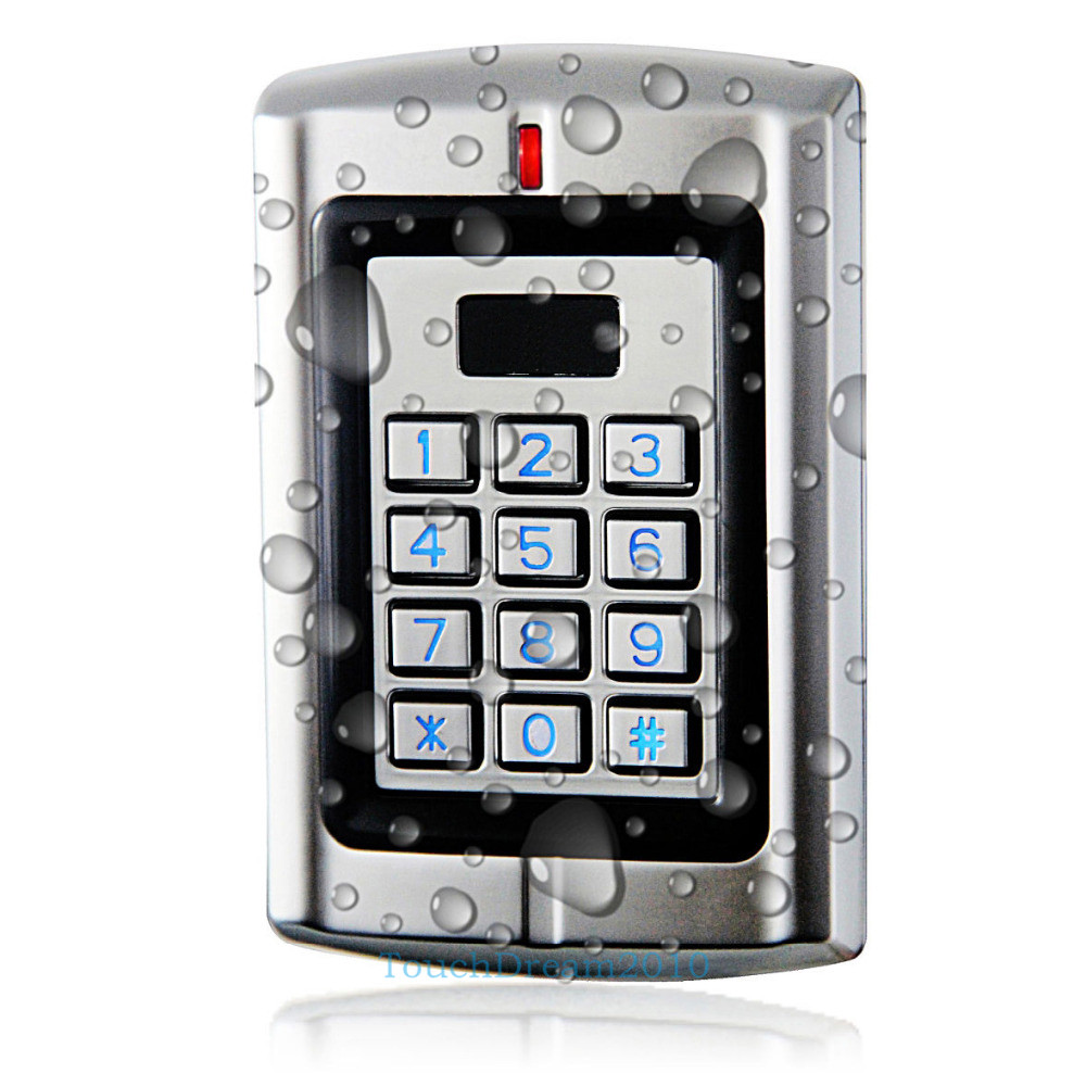 1200lbs Mag Lock Standalone Waterproof Control Systems PROXCARDⅡ Card Reader Kit