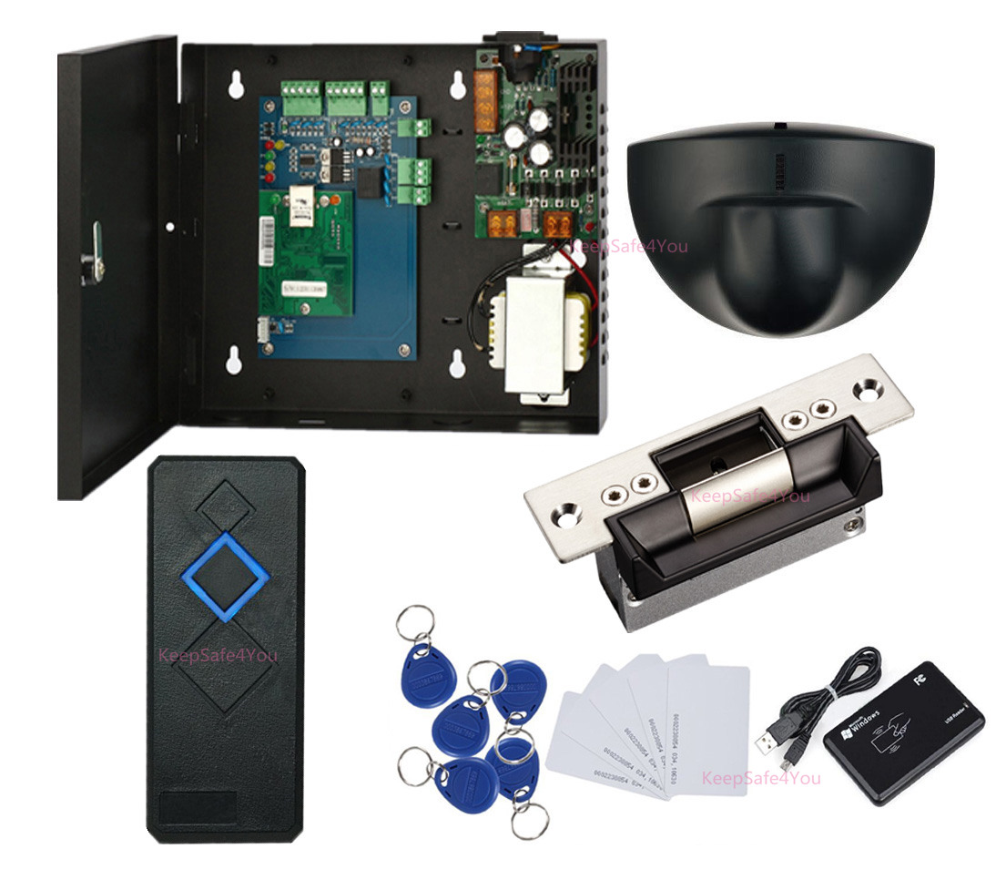 Single Door Entry Access Control Systems Exit Motion Sensor Usa Request To Wiring Diagram If You Want Check The Hardware Manual Wire Or System Video Demo Firstlyplease Send Ebay Message Us Have Any Question Ask Me