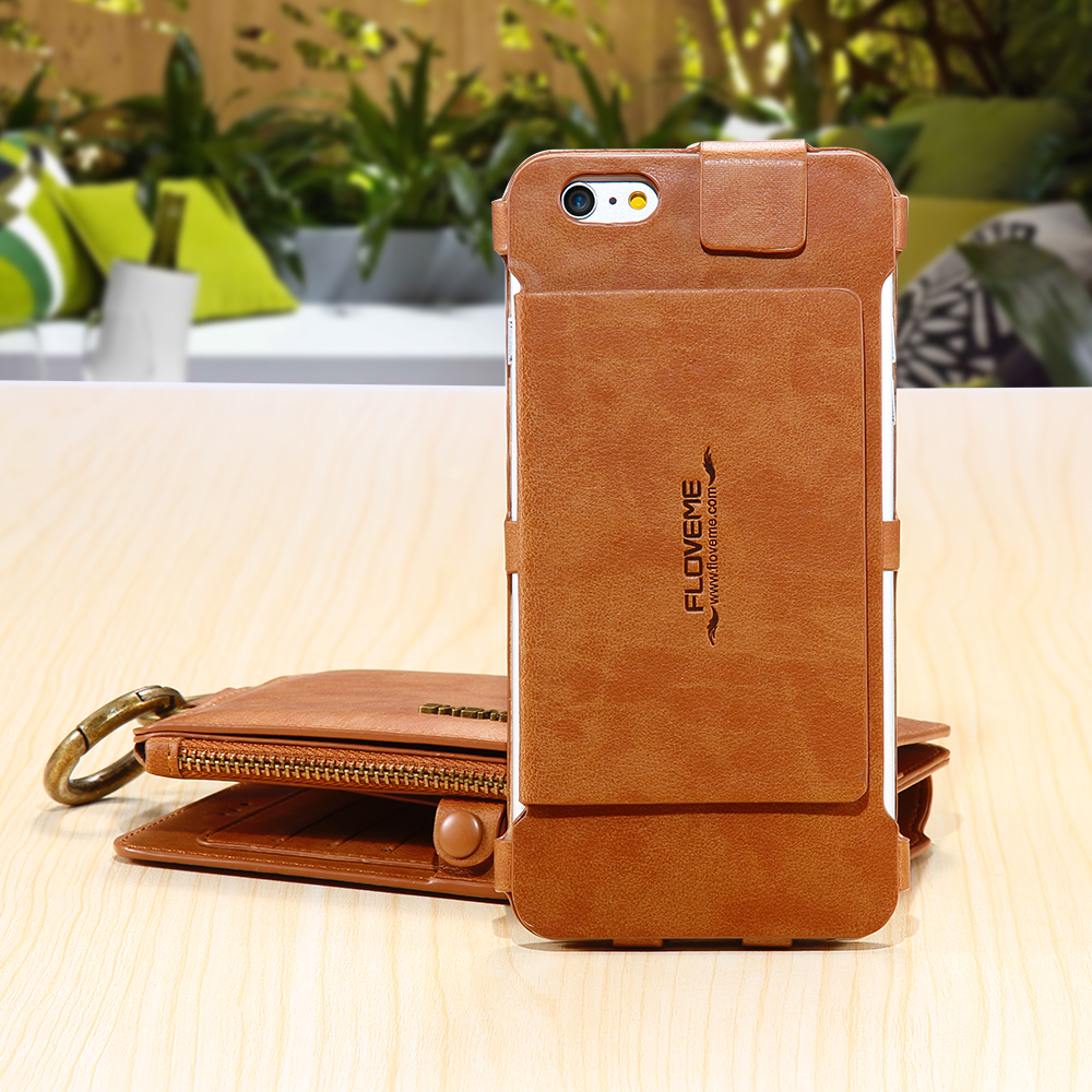 Genuine Leather Business Wallet Card Slot Purse Case Cover For ...