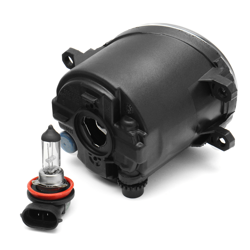 Pair Front Clear Fog Lights Wiring Harnes For Toyota Yaris
