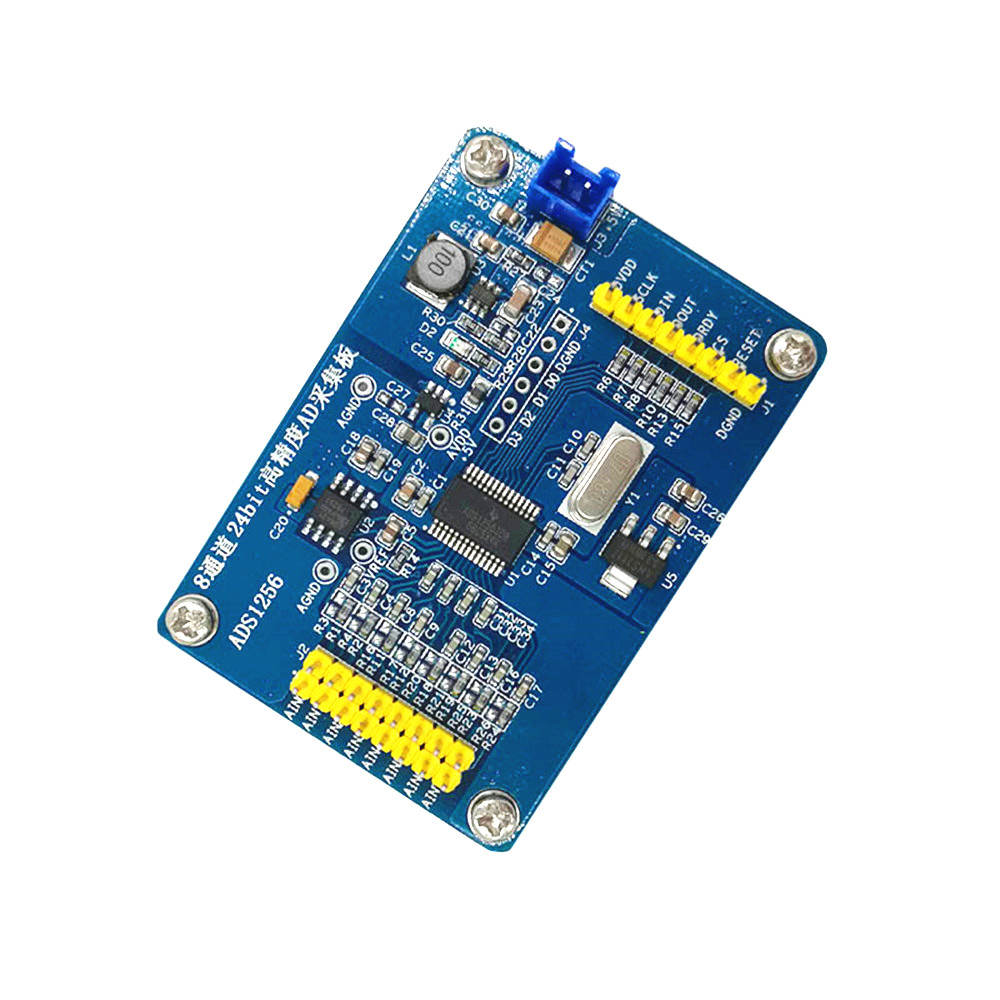 Details about ADS1256 Module 24 Bit ADC AD Module High-precision ADC Data  Acquisition Board