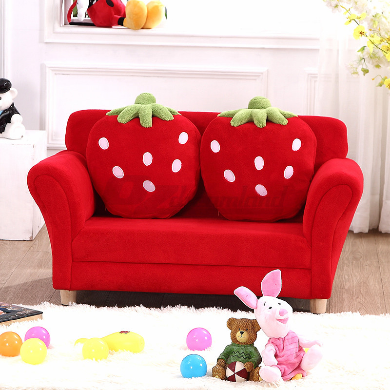 Children Kids 2 Seater Sofa Couch Arm Chair Amp Cushions
