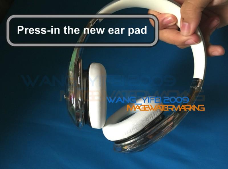 New Protein Softer Cushion Ear Pad earpad For Crystal Diamond Tears Edg headones