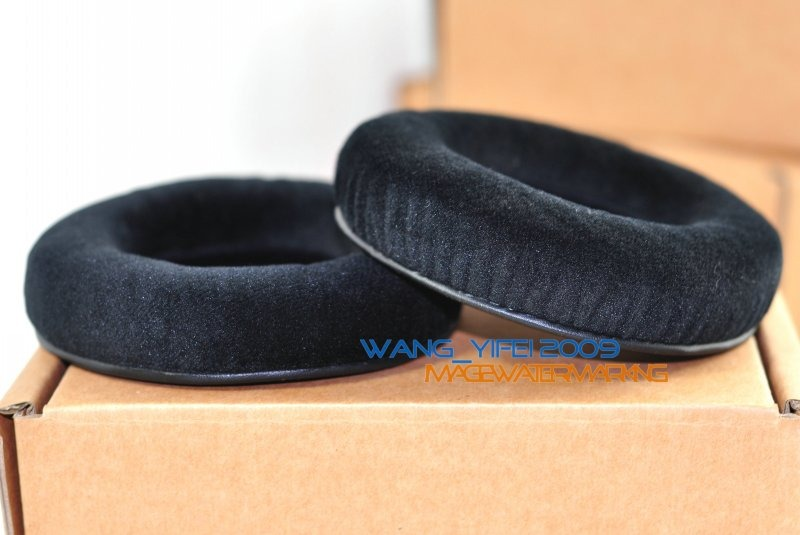 d0cfb6ed84a Details about Thick Velour Velvet Ear Pads Cushion For AKG K Series Studio  HD MKII Headphones