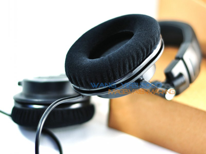 Details about Velour Cushion For Audio Technica ATH M20X M30X M40X M50X  M-Series DJ Headphones