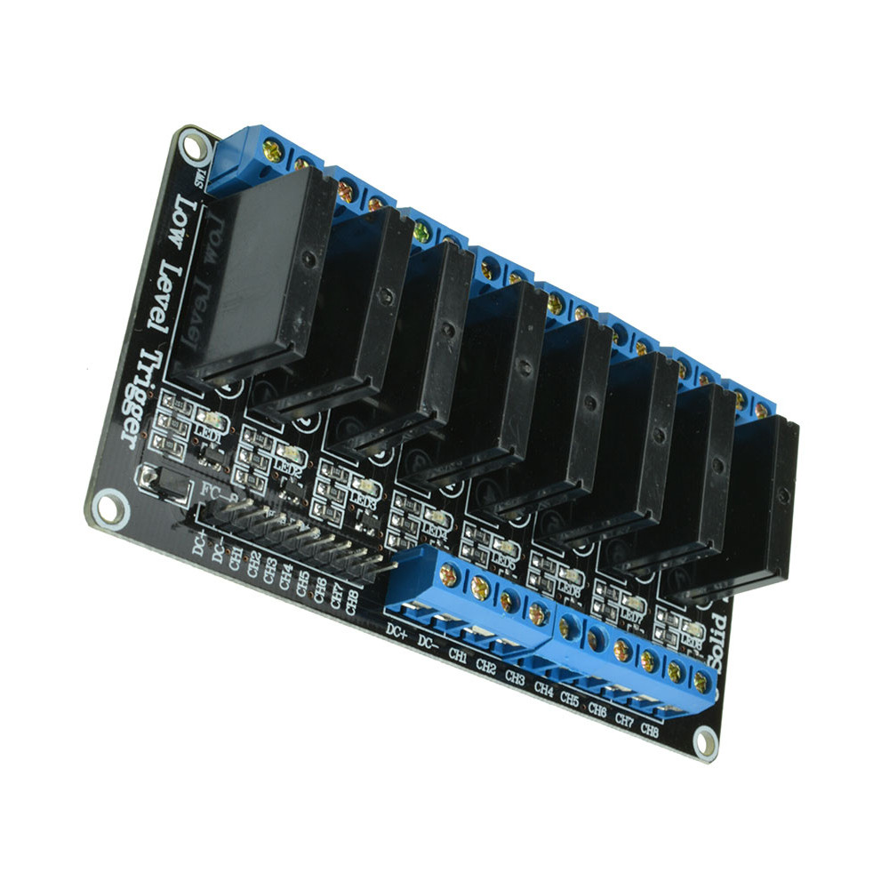 V a ch low level trigger solid state relay module