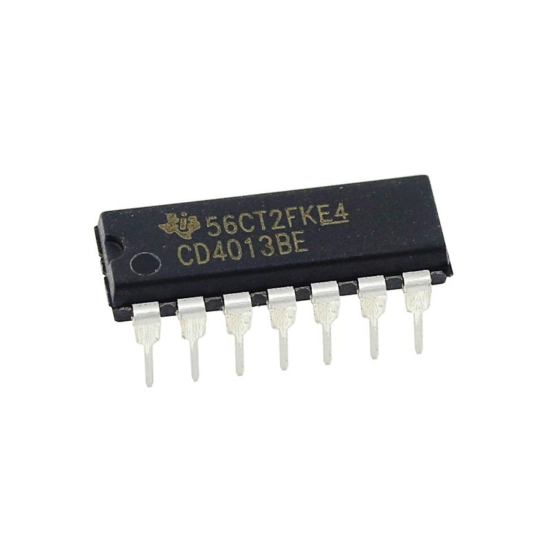 25PCS CD4013BE Integrated Circuit Dual D-Type Flip Flop DIP-14 Module