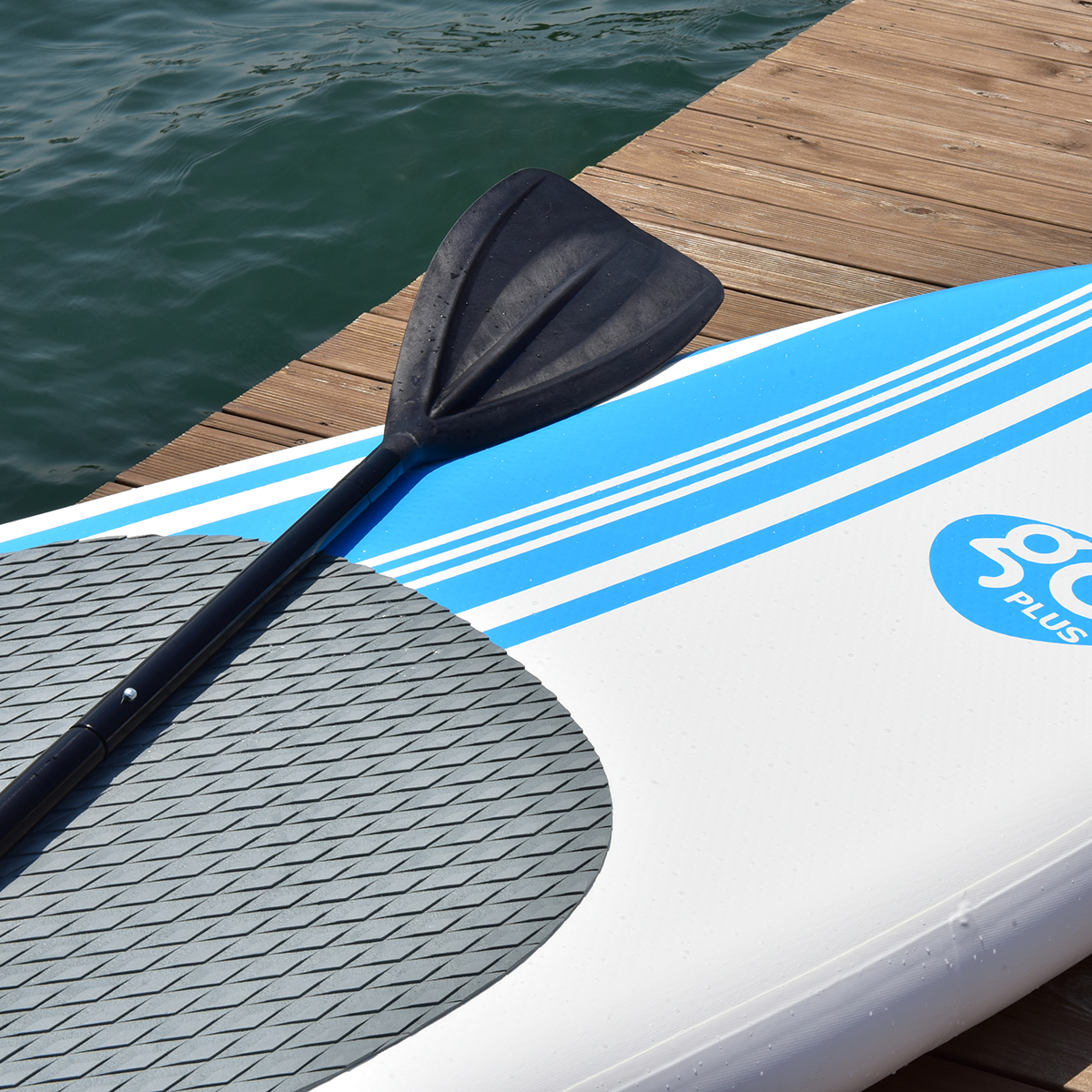 Costway 10' Inflatable Stand Up Paddle Board SUP Kayak ...