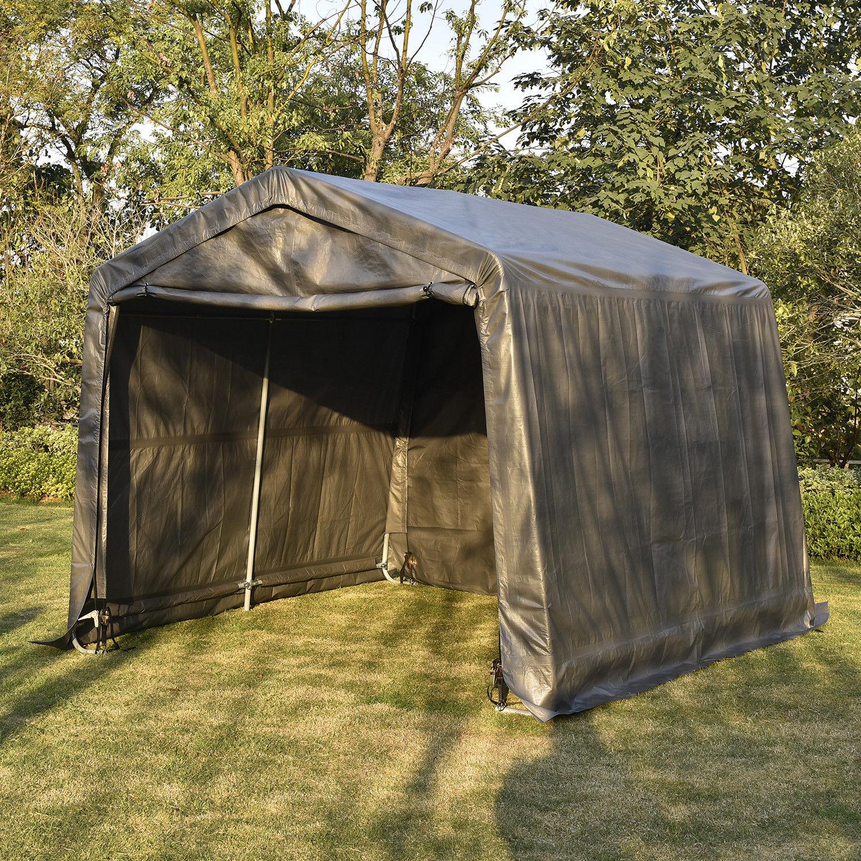 10/15Ft Outdoor Carport Canopy Portable Shelter Garage ...