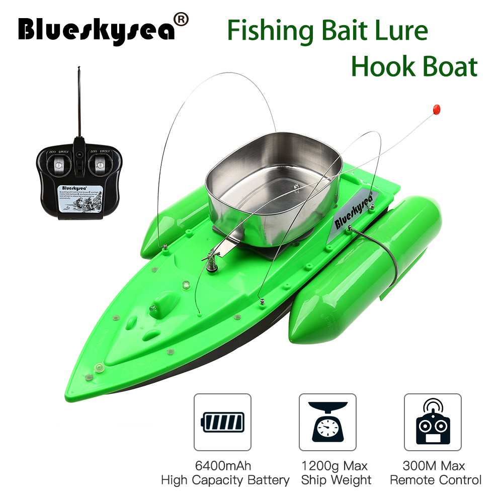 1x Fishing Boat 1x Remote Control 1x Charger