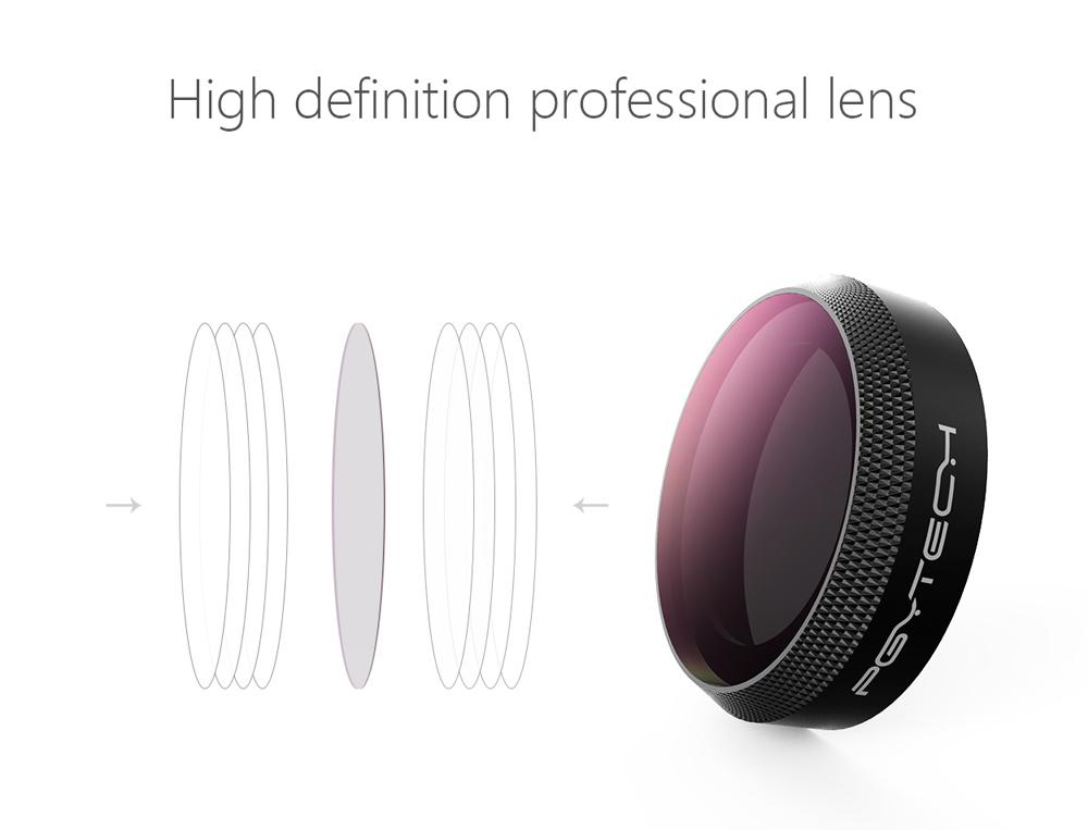 Genuine PGYTECH DJI Mavic AIR Filter Lens ND64//PL Neutral Poloriser PRO FREEPost