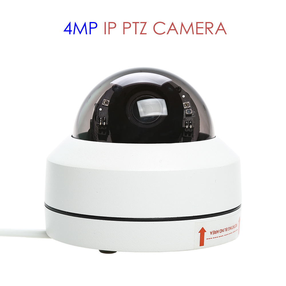 IP PTZ Smart Camera 4MP Speed Onvif Dome Network Zoom Home