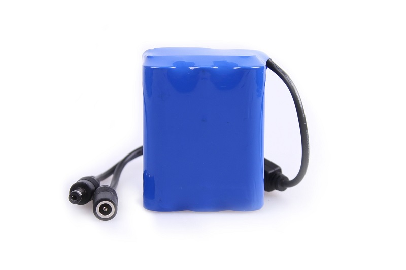 2pcs x 4500mah battery pack for 7 fish finder underwater for Battery powered fish finder