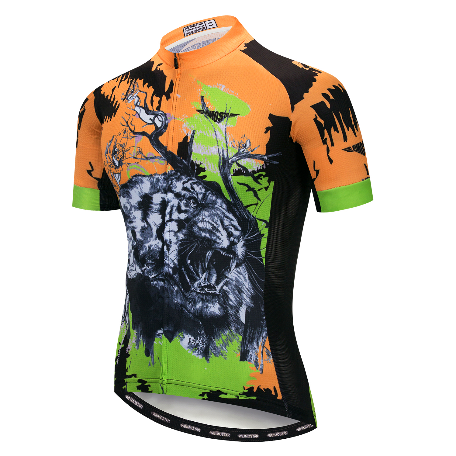 Details about Tiger Cycling Jersey Men Bicycle Clothing Set MTB Short  Sleeve Bike Shorts Tops bd129dd7d