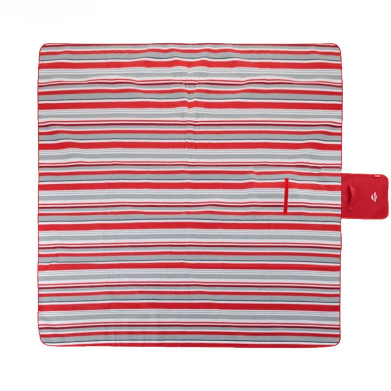 picknickdecke stranddecke picknick camping reisedecke 200x200 cm flanell rot neu ebay. Black Bedroom Furniture Sets. Home Design Ideas