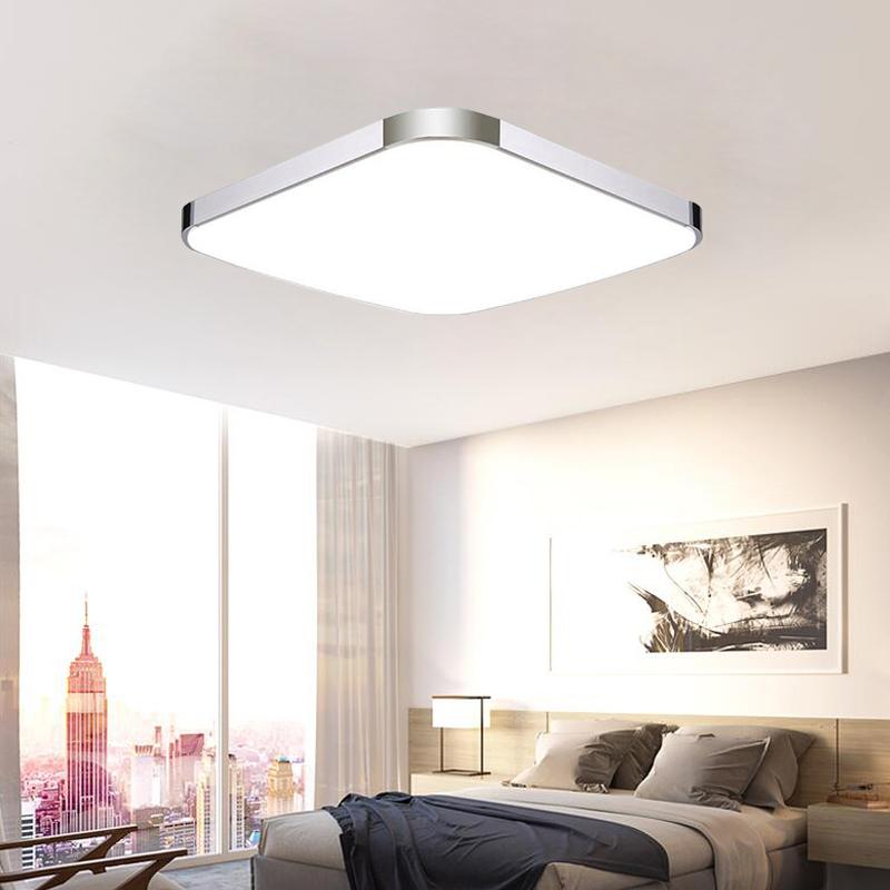 24w dimmbar led deckenlampe deckenleuchte wandlampe modern for Deckenlampe wohnzimmer modern