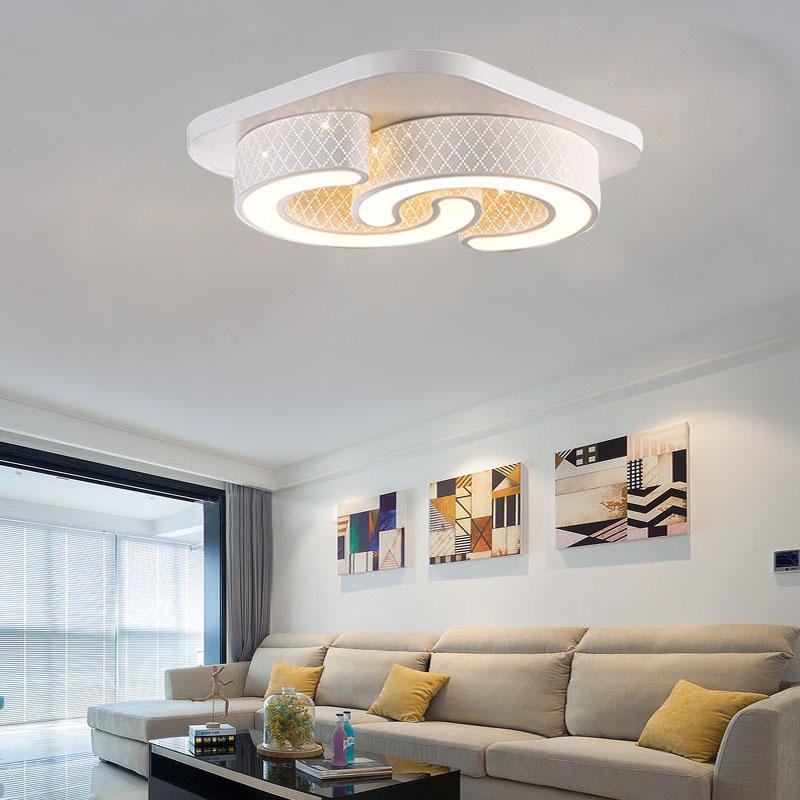 Led dimmbar deckenlampe deckenleuchte wandlampe flurlampe for Wohnzimmer led deckenlampe