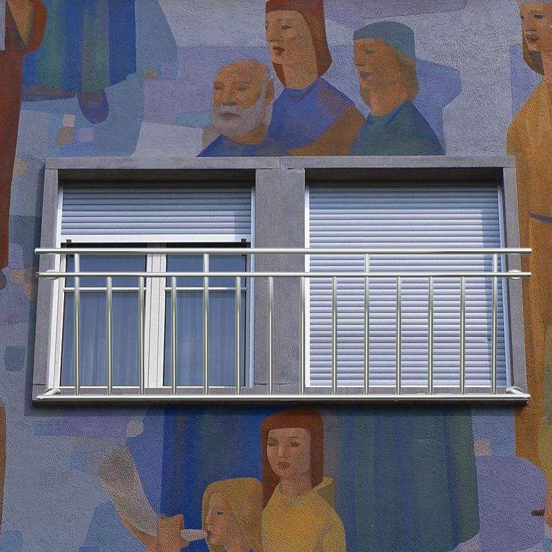 balkongelander edelstahl franzosischer balkon With französischer balkon mit garten laser qvc
