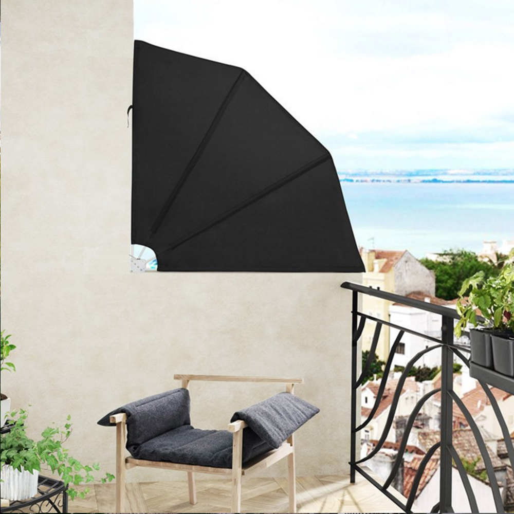 Balkonf Cher Sichtschutz Windschutz Markise Seitenmarkise