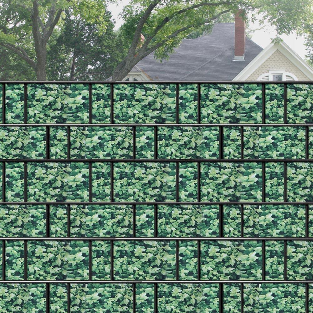 65m pvc buchsbaum sichtschutz streifen sichtschutzfolie doppelstabmatten zaun ebay. Black Bedroom Furniture Sets. Home Design Ideas