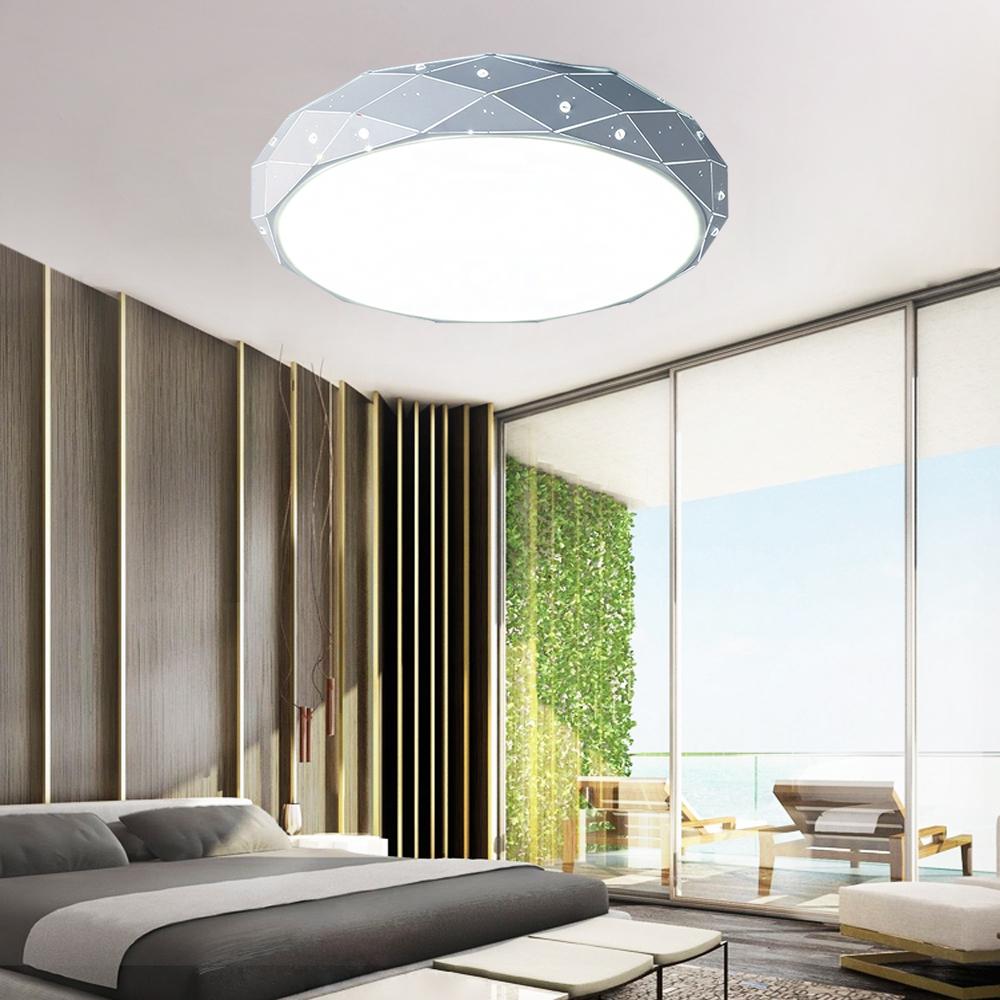 18w 64w led deckenleuchte dimmbar deckenlampe wandlampe flurlampe wohnzimmer ebay. Black Bedroom Furniture Sets. Home Design Ideas