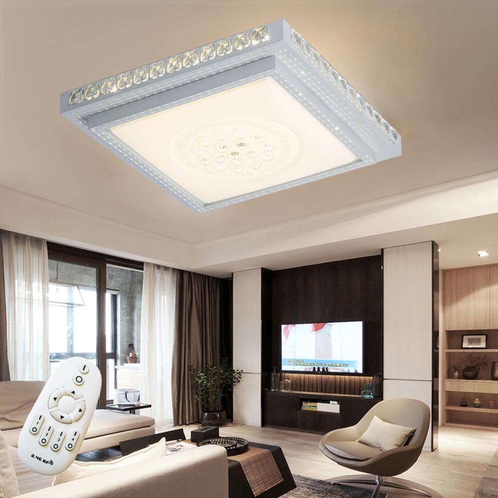 36w led kristall deckenleuchte deckenlampe design for Deckenleuchte wohnzimmer design