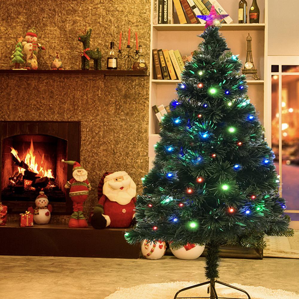 k nstlicher led rgb weihnachtsbaum tannenbaum 150 cm. Black Bedroom Furniture Sets. Home Design Ideas