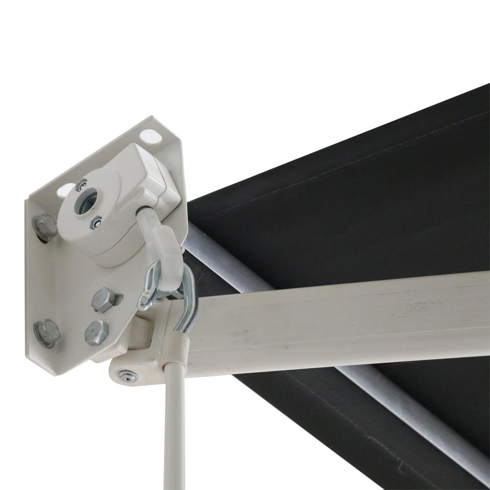 3 6m x 3m aluminium markisen gelenkarmmarkise sonnenschutz. Black Bedroom Furniture Sets. Home Design Ideas