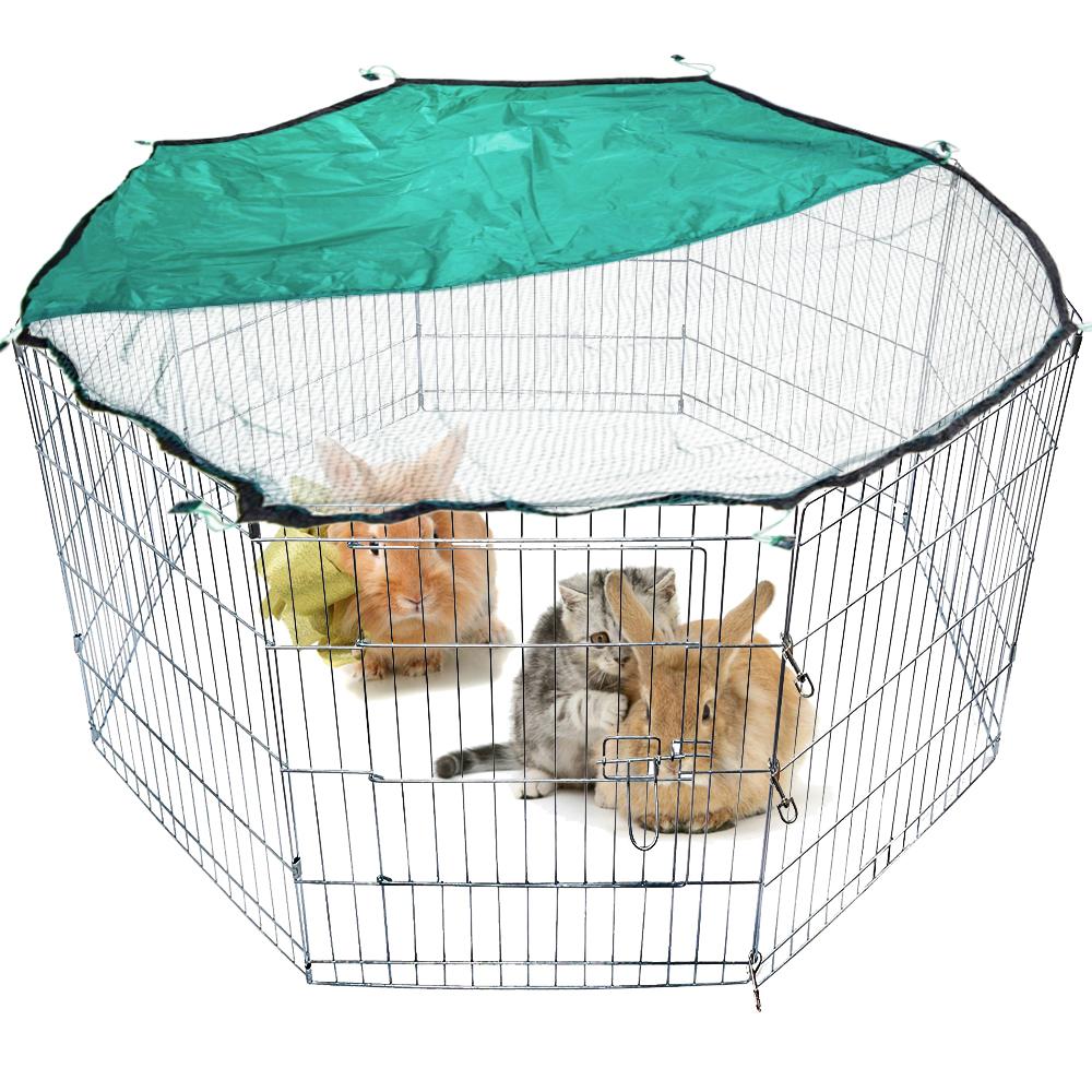 welpenauslauf absperrgitter freigehege freilaufgehege welpen kaninchen laufstall ebay. Black Bedroom Furniture Sets. Home Design Ideas