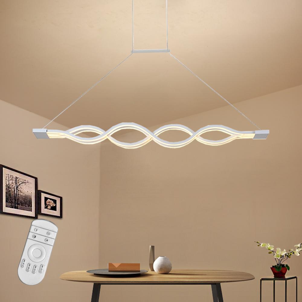 led dimmbar design h ngeleuchte pendelleuchte deckenlampe wohnzimmer esszimmer ebay. Black Bedroom Furniture Sets. Home Design Ideas