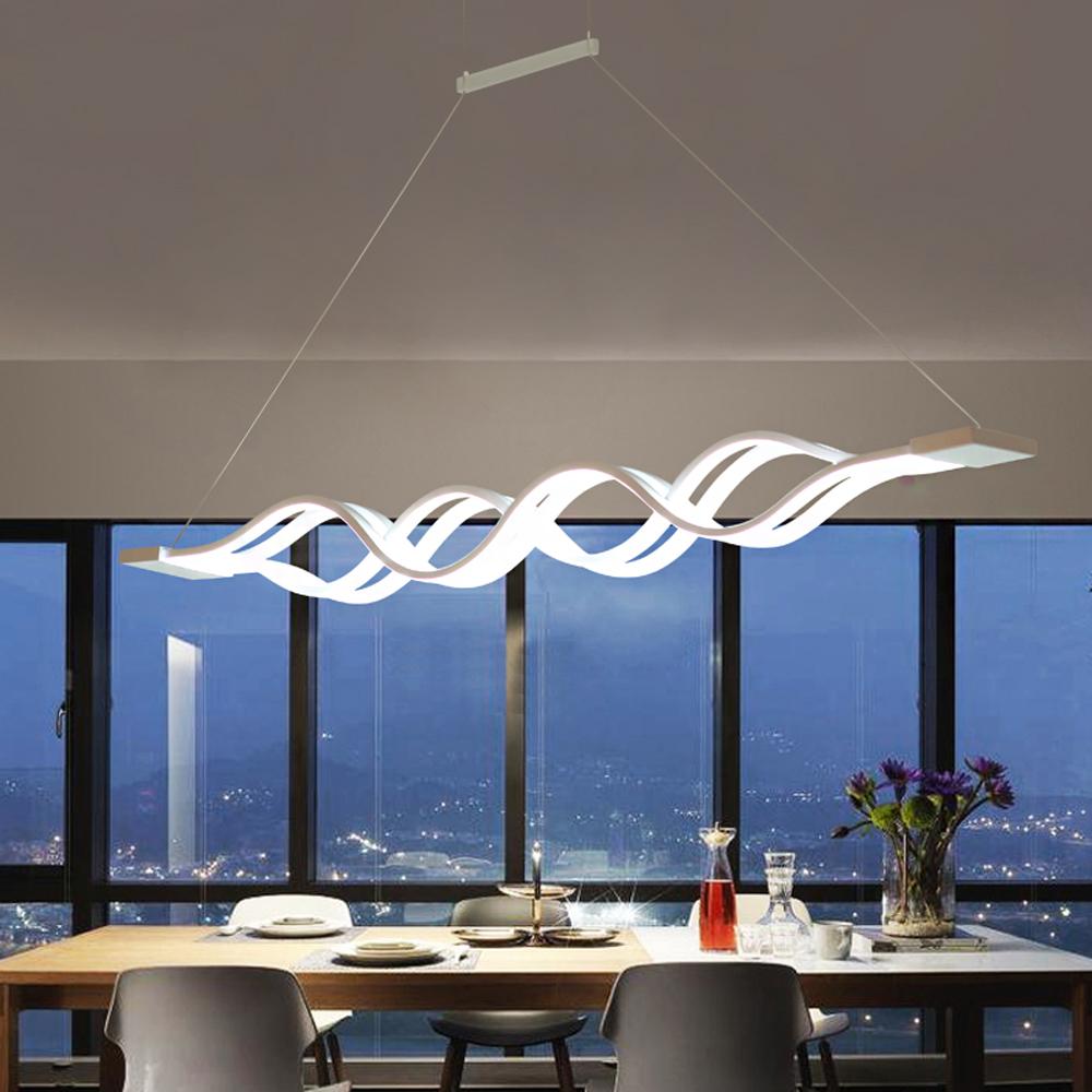 60W LED Hängeleuchte Pendelleuchte Hängelampe Deckenlampe Dimmbar ...
