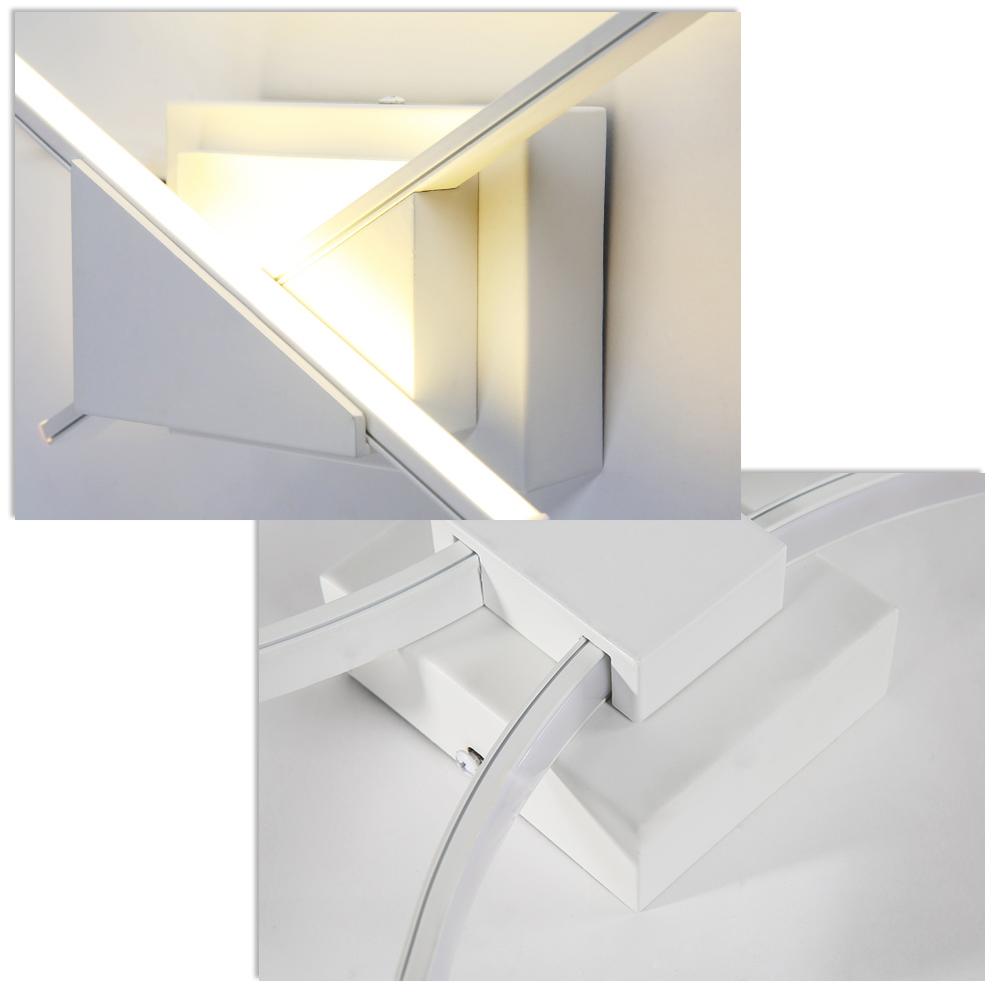 8w wandlampe wandleuchte innen led effekt lampe licht treppenlampe flurlampe ebay. Black Bedroom Furniture Sets. Home Design Ideas