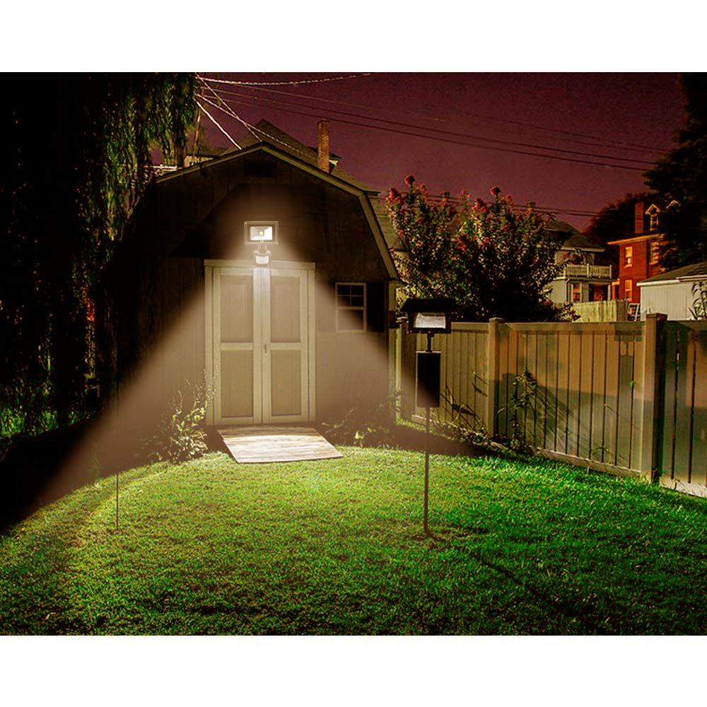led fluter au en strahler flutlicht ip65 mit bewegungsmelder sensor 20w 50w wei ebay. Black Bedroom Furniture Sets. Home Design Ideas