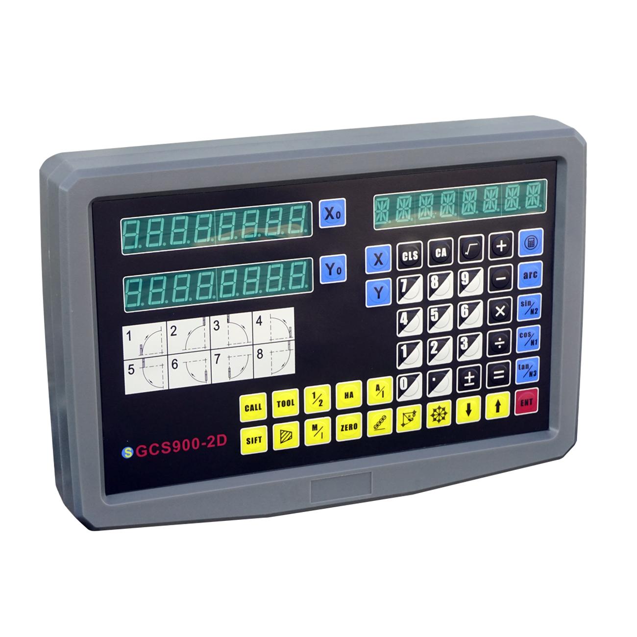 Digital Readout Dro Kit Display Meter For Milling Lathe