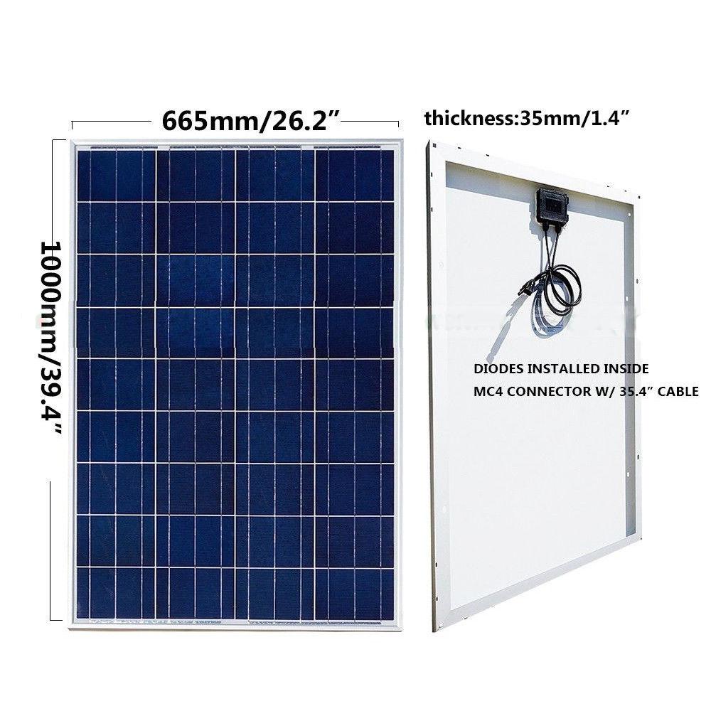 24v Solar Pump Deep Well Pump W 2 100w Solar Panel