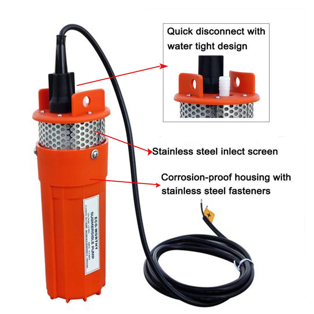 12v Submersible Deep Well Water Dc Pump Alternative