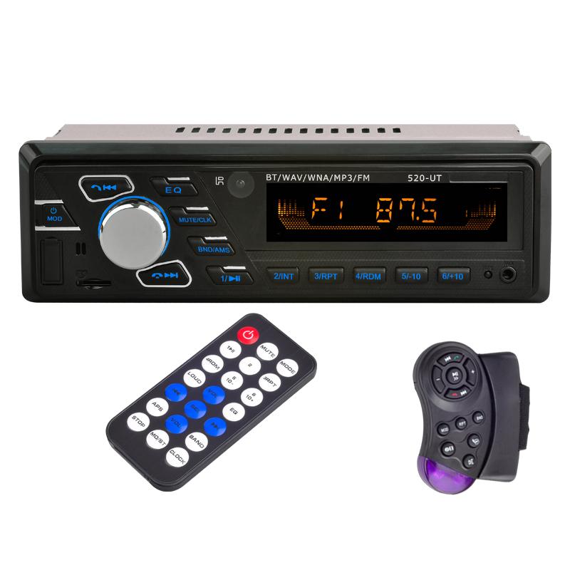 SD/USB/AUX/FM/MP3 Head Unit 12V Bluetooth Car Radio Stereo