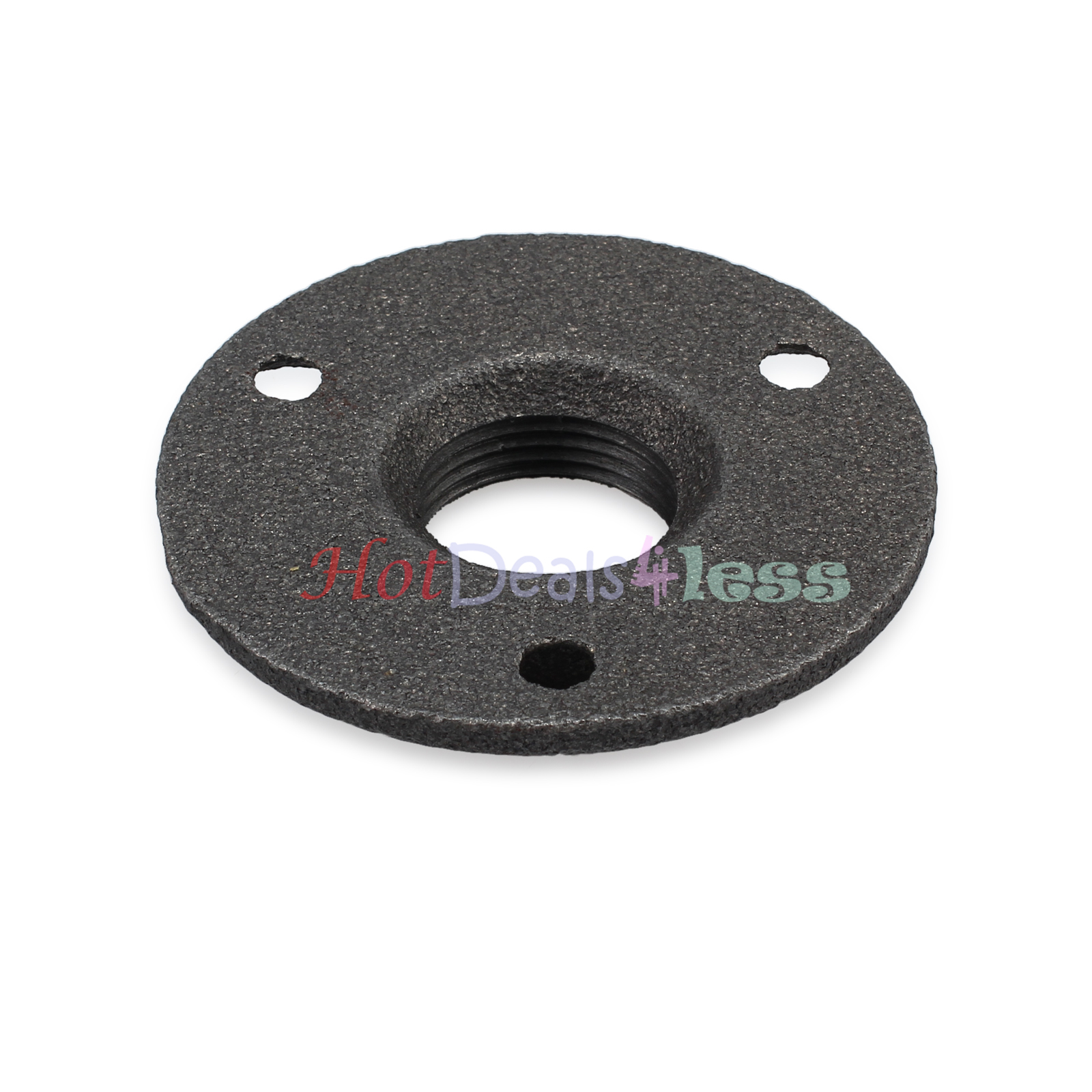 Threaded malleable floor flange iron pipe