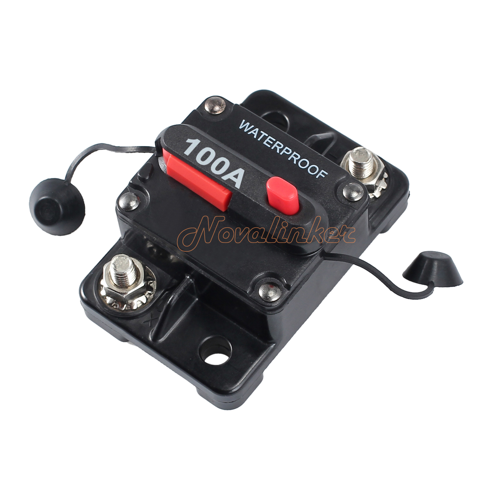 100a amp circuit breaker dual battery ip67 waterproof 12v