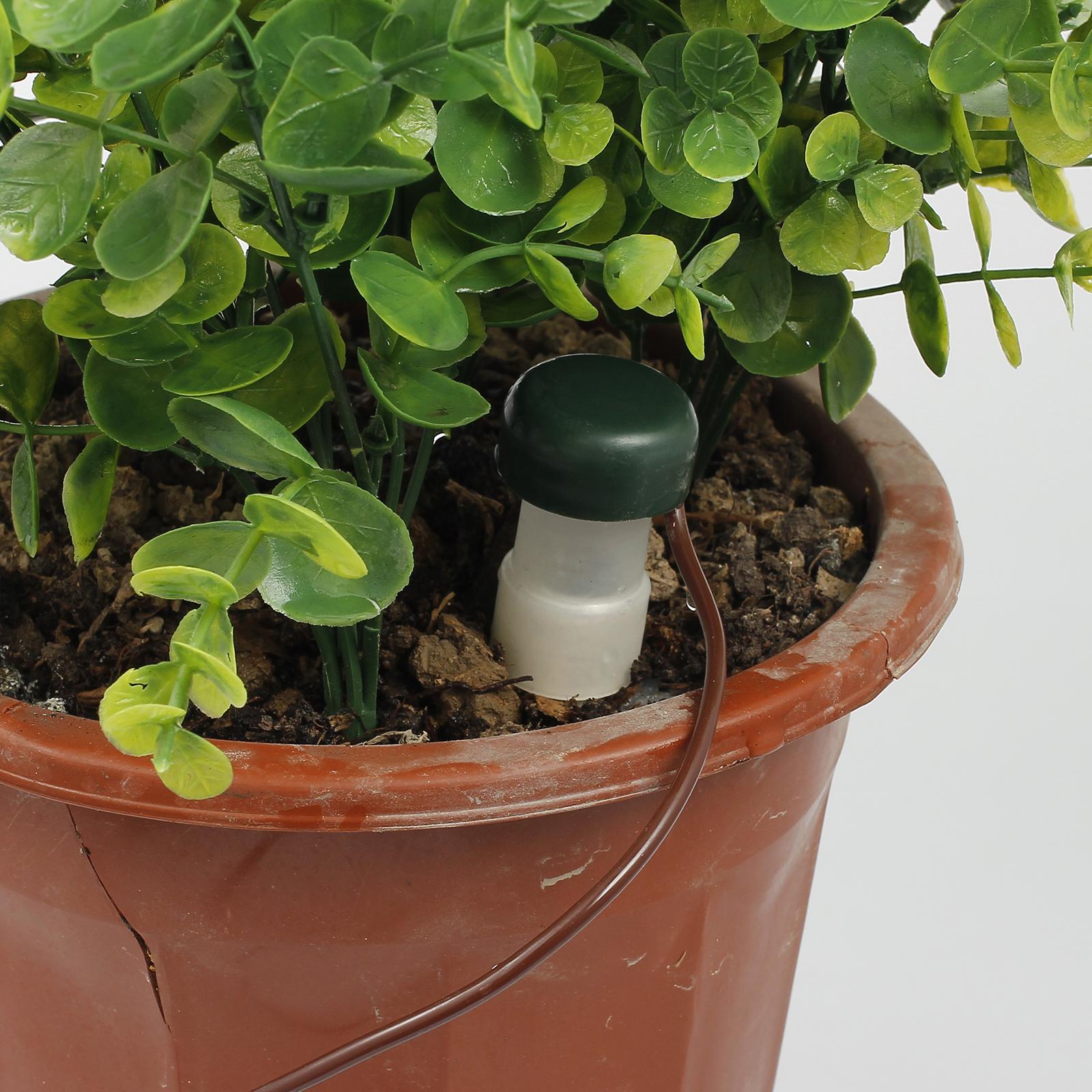 8x automatisch bew sserung f r topfpflanzen blumentopf. Black Bedroom Furniture Sets. Home Design Ideas