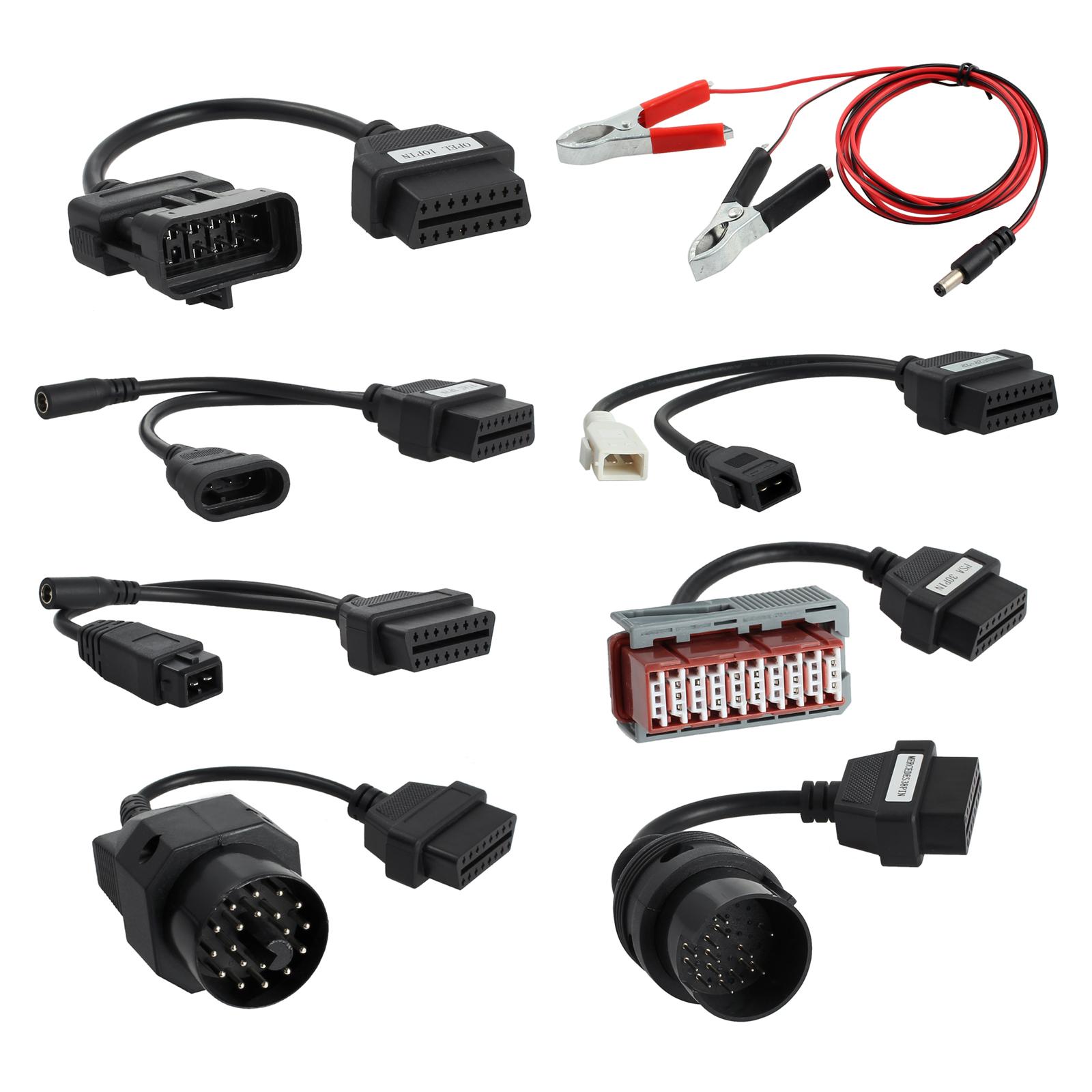 8er Diagnose Adapter Kabel Stecker OBD 2 II Diagnosegerät LKW KFZ ...