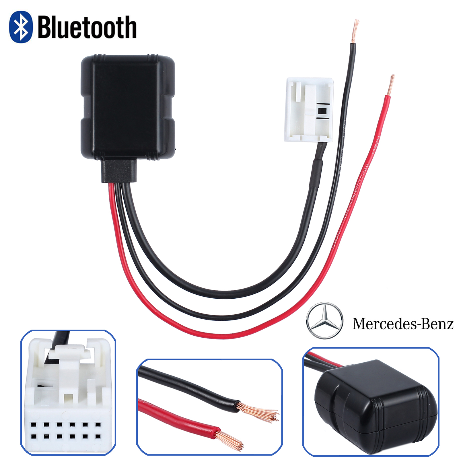 Diagnose kabel bluetooth aux in adapter kabel mercedes for Bluetooth adapter for mercedes benz e350