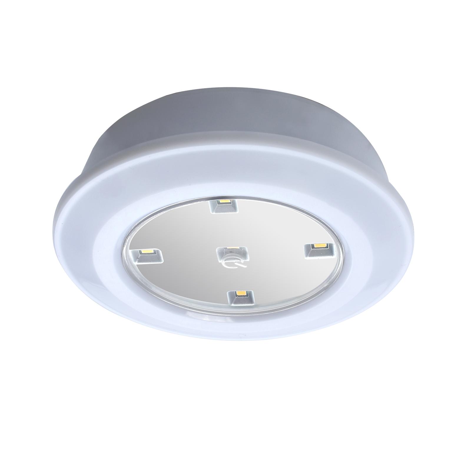 1x 5 Leds Touch Licht Leuchte Lampe Batteriebetrieb Unterbau Schrank ...