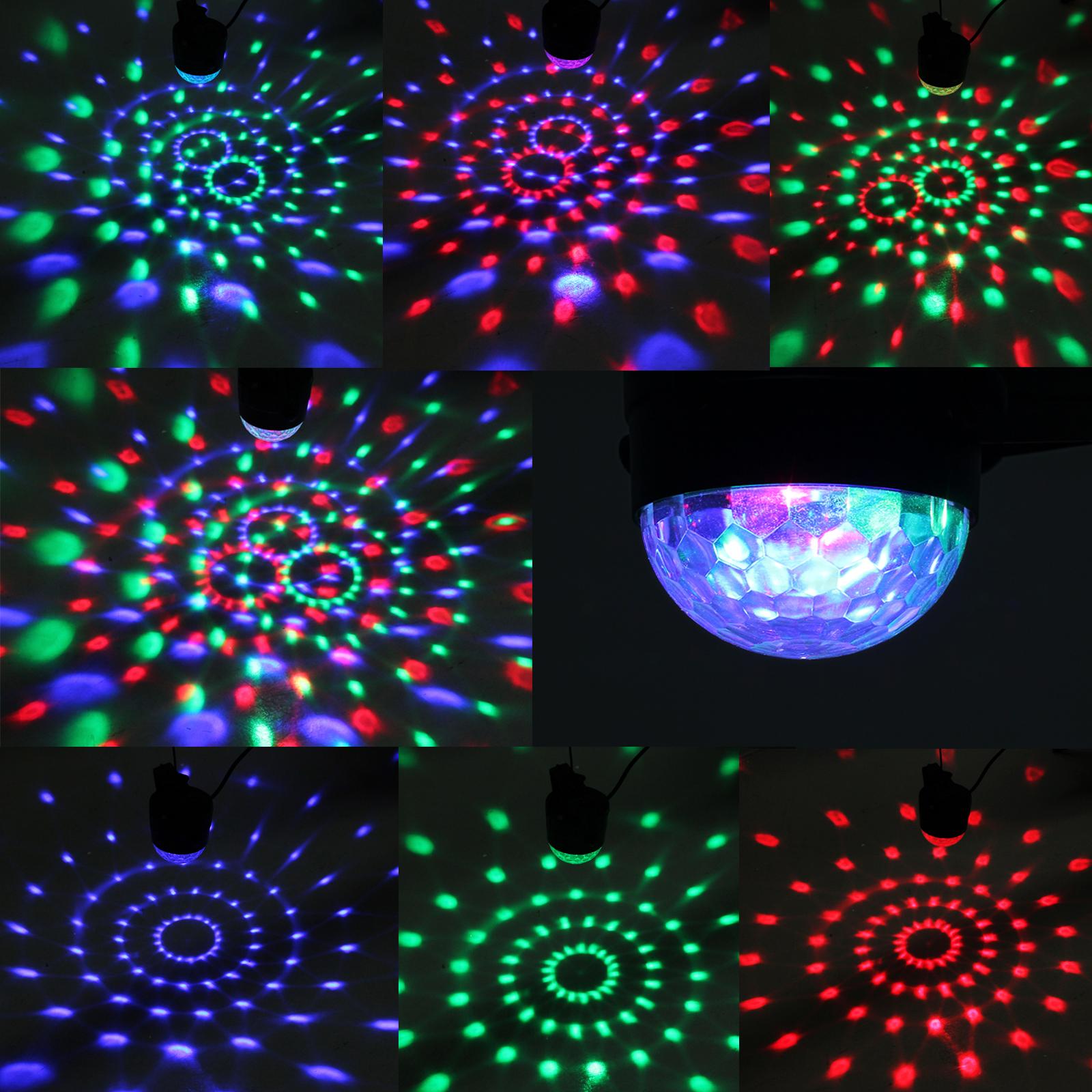 Discokugel Solmore Led Partylicht Disco Lichteffekte Mit ...