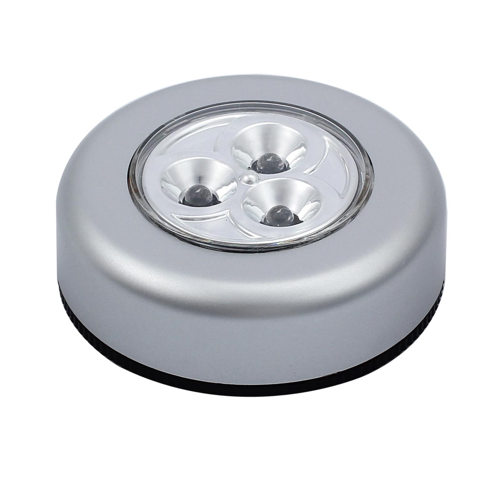 10x 3leds unterbauleuchte touch lampe batteriebetrieb fr. Black Bedroom Furniture Sets. Home Design Ideas