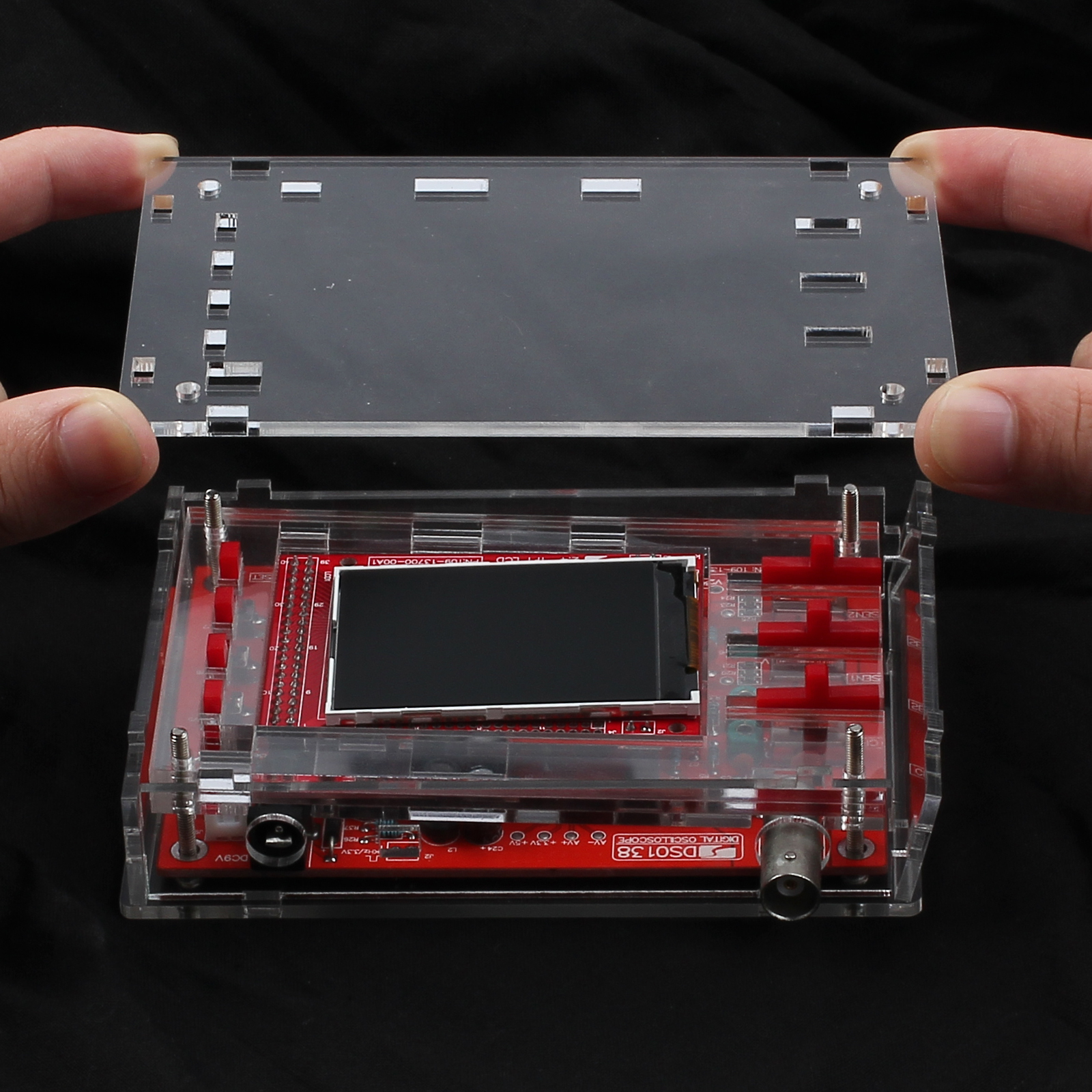 dso138 acrylic case assembly instructions