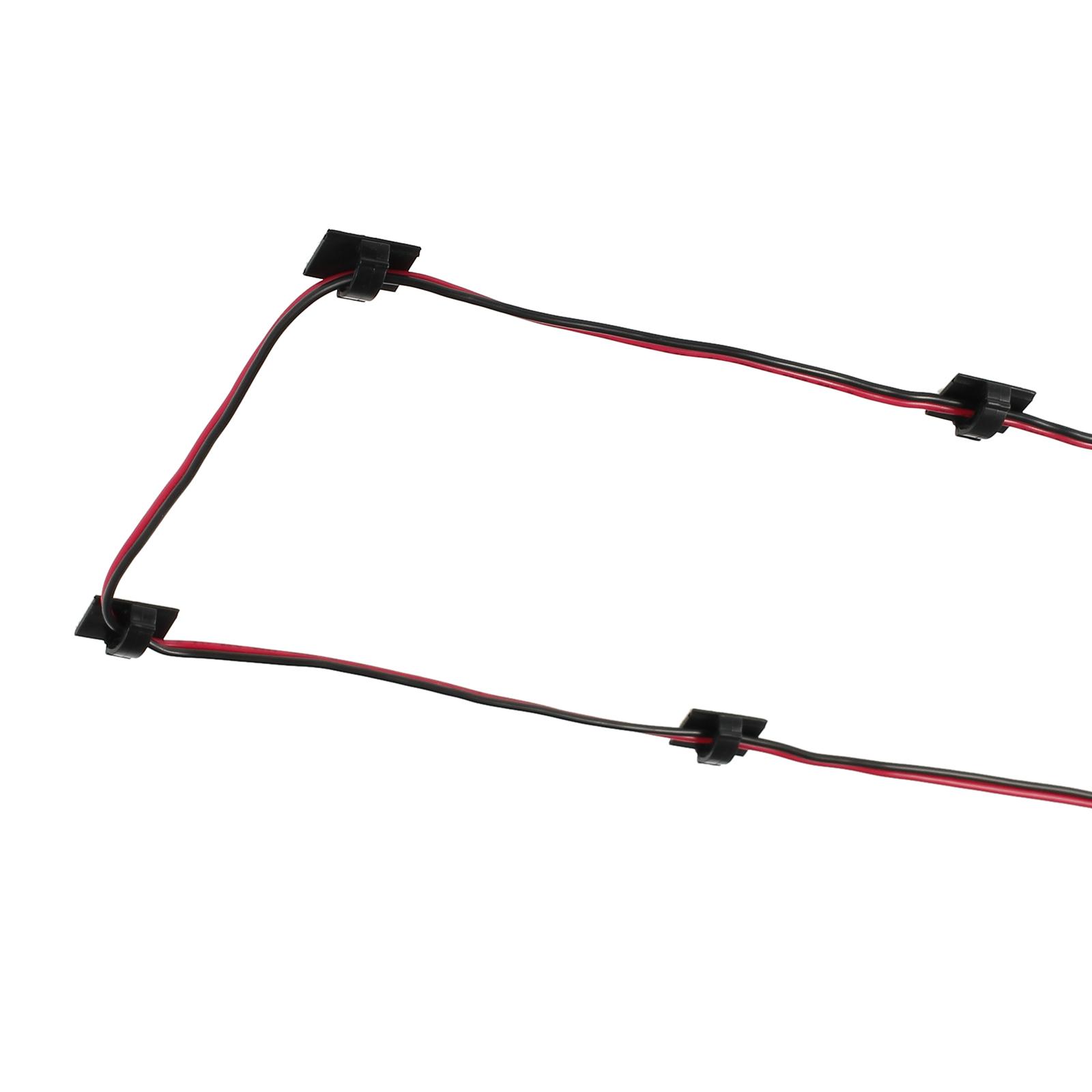 30X AUTO Kabelhalter selbstklebend Kabelklemme Kabelclip Kabel ...