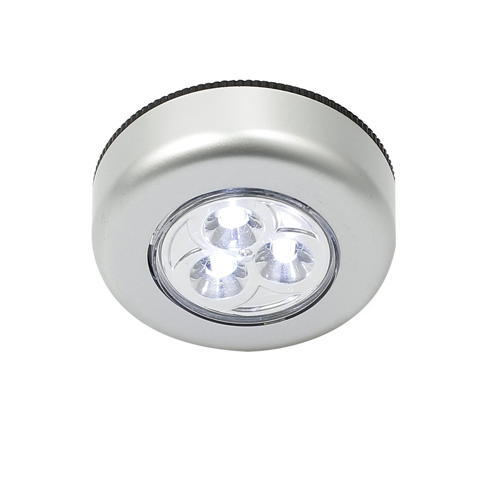 10x LED Touch Leuchte Lampe Klebeleuchte Weiß Licht Batteriebetrieb ...