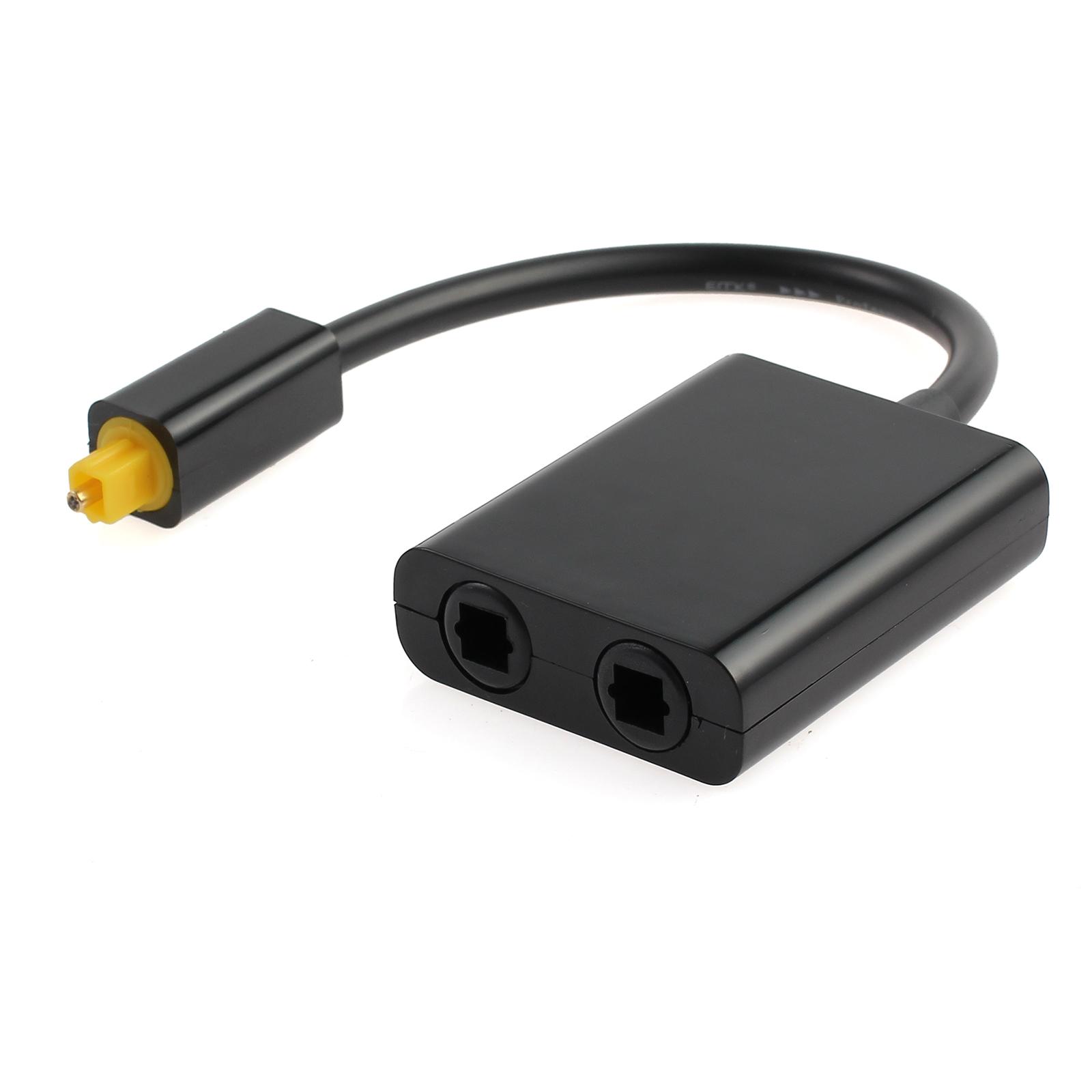 Digital Cable Splitter 12 Port : To dual port toslink digital optical splitter fiber
