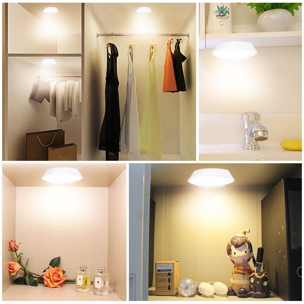 led touch push licht lampe unterbauleuchte nachtlicht f r zimmer schrank leuchte ebay. Black Bedroom Furniture Sets. Home Design Ideas